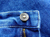 Jeans button Royalty Free Stock Images