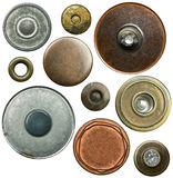 Jeans buttons Stock Photography