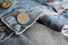 Jeans buttons close up Royalty Free Stock Photos