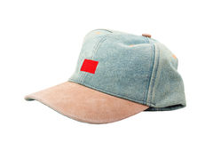 Jeans cap Stock Photography