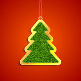 Jeans christmas tree Royalty Free Stock Photography