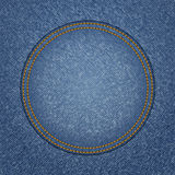 Jeans circle Royalty Free Stock Images