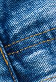 Jeans close up. Classic jeans texture, close up royalty free stock photography