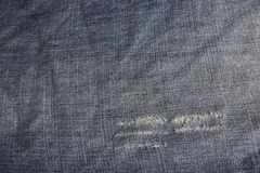 Jeans. Close up of blue jeans texture Royalty Free Stock Photos