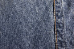 Jeans. Close up of blue jeans texture Royalty Free Stock Images