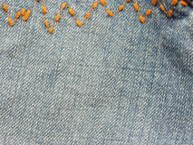 Jeans close up Royalty Free Stock Photos