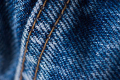 Jeans close-up Stock Photos