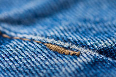 Jeans close-up Stock Photo