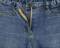 Jeans closeup Royalty Free Stock Image