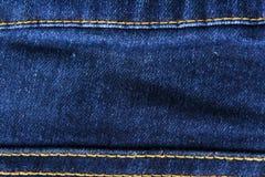 Jeans closeup Royalty Free Stock Photos