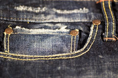 Jeans closeup Royalty Free Stock Images