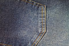 Jeans cloth Stock Image