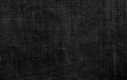 Jeans cloth black texture royalty free stock images