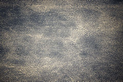 Jeans cloth texture Royalty Free Stock Images