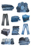 Jeans collection Royalty Free Stock Photography