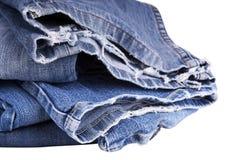 Jeans déchirés Photos libres de droits