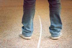 Jeans d'homme Image libre de droits