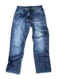 Jeans d'isolement images stock