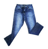 Jeans d'isolement image stock