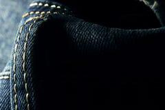 Jeans. Dark jeans shot in studio Stock Image