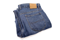 Jeans de denim Images libres de droits