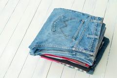 Jeans de denim image libre de droits