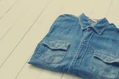 Jeans de denim photo stock
