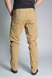 Jeans de la jeunesse mis sur le type Images libres de droits