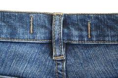 Jeans. De naad. De achtergrond. 4 Royalty-vrije Stock Afbeelding