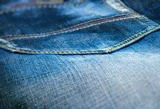 Jeans de texture Image libre de droits