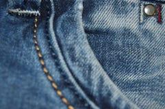jeans de texture Images stock