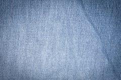 Jeans de texture Photographie stock libre de droits
