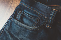 Jeans de vintage Image libre de droits
