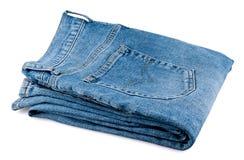 Jeans degli uomini piegati Immagine Stock Libera da Diritti