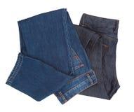 Jeans del denim Immagini Stock Libere da Diritti