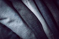 Jeans del primo piano Immagini Stock