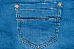 Jeans della carta da parati e di struttura Immagine Stock