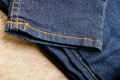 Jeans of denim royalty-vrije stock fotografie