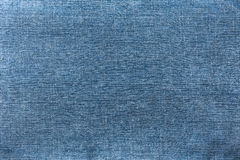Jeans denim blue texture or background Royalty Free Stock Photography