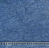Jeans denim texture. Close up of blue jeans denim texture background Royalty Free Stock Photos