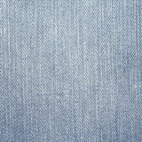 Jeans Denim Texture. Light Gray Blue Color. Royalty Free Stock Photography