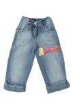 Jeans der Kinder Stockbild