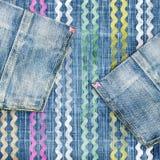 Jeans dernier cri Photo stock