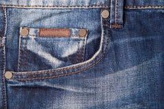jeans di struttura Fotografie Stock Libere da Diritti
