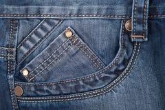 jeans di struttura Fotografia Stock Libera da Diritti