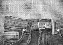 Jeans e Fotografie Stock