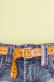 Jeans e Fotografia Stock Libera da Diritti