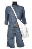 Jeans entsprechen und bauschen sich lizenzfreie stockfotos