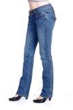 Jeans et chaussures Photo libre de droits