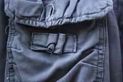 Jeans för grön oliv Royaltyfri Bild